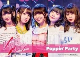 Poppin'Party 2L判ブロマイド