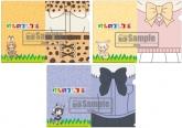 けものフレンズ クリアファイル3枚組セット