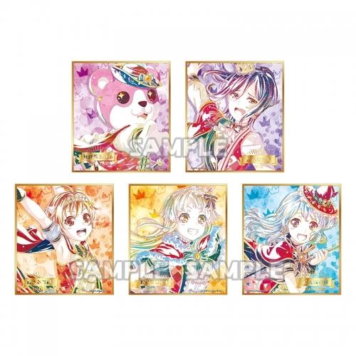 【グッズ-色紙】バンドリ! ガールズバンドパーティ! Ani-Art トレーディングミニ色紙 vol.2 ハロー、ハッピーワールド!