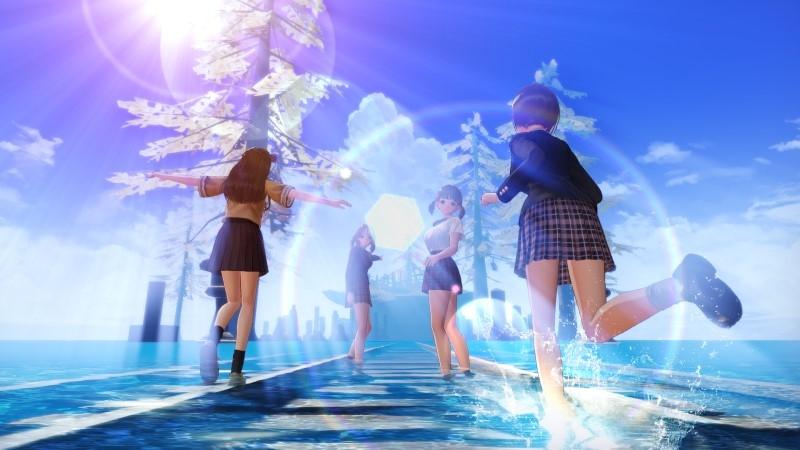 【PS4】BLUE REFLECTION TIE/帝 プレミアムボックス(ゲーマーズ限定絵柄) サブ画像2