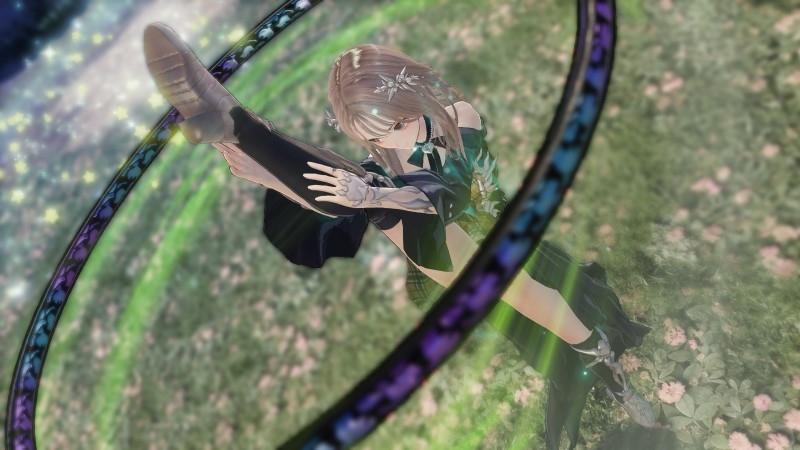 【PS4】BLUE REFLECTION TIE/帝 ゲーマーズ超限定版【描き下ろしA4キャラファイングラフ/オリジナルB2布ポスター/オリジナルアクリルフィギュア3個セット付き】 サブ画像9