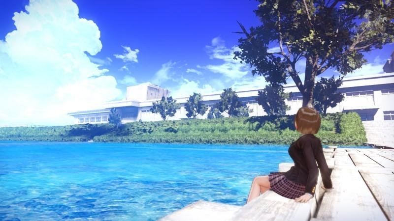【PS4】BLUE REFLECTION TIE/帝 プレミアムボックス(ゲーマーズ限定絵柄) ゲーマーズ超限定版【描き下ろしA4キャラファイングラフ/オリジナルB2布ポスター/オリジナルアクリルフィギュア3個セット付き】 サブ画像3