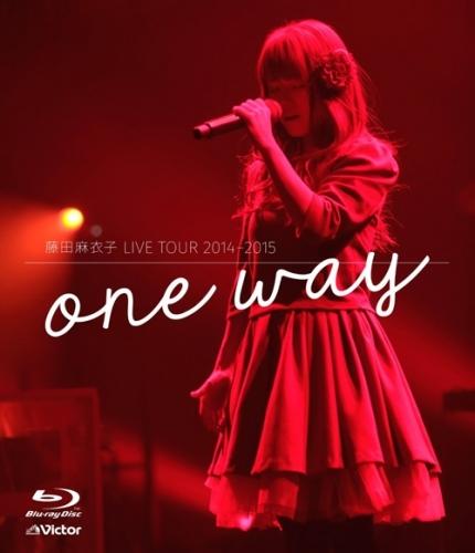 【Blu-ray】藤田麻衣子/LIVE TOUR 2014-2015~one way~