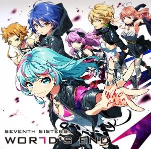 【キャラクターソング】セブンスシスターズ New Single『WORLD'S END』通常盤  【CD】