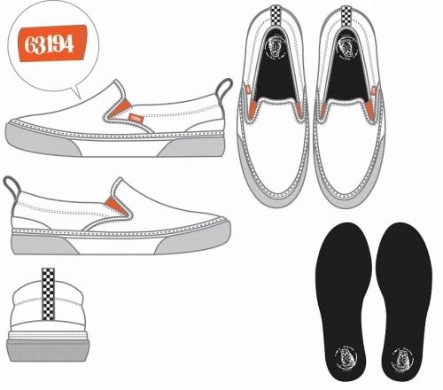 【グッズ-靴】約束のネバーランド スリッポン 28cm サブ画像4