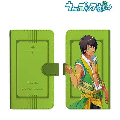 【グッズ-携帯グッズ】うたの☆プリンスさまっ♪ 愛島セシル 手帳型スマホケース(Mサイズ)
