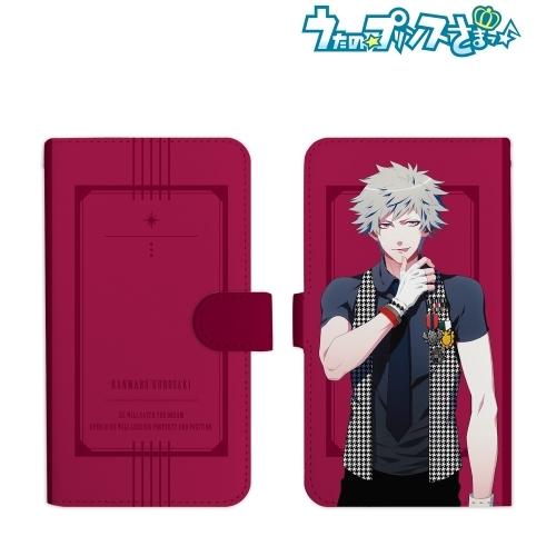 【グッズ-携帯グッズ】うたの☆プリンスさまっ♪ 黒崎蘭丸 手帳型スマホケース(Lサイズ)