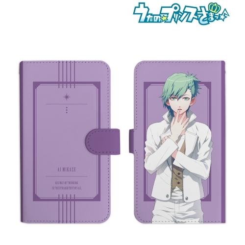 【グッズ-携帯グッズ】うたの☆プリンスさまっ♪ 美風 藍 手帳型スマホケース(Mサイズ)