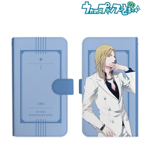 【グッズ-携帯グッズ】うたの☆プリンスさまっ♪ カミュ 手帳型スマホケース(Mサイズ)