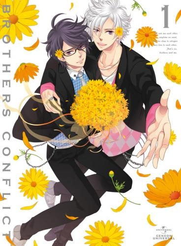 【Blu-ray】TV BROTHERS CONFLICT 第1巻 初回限定版