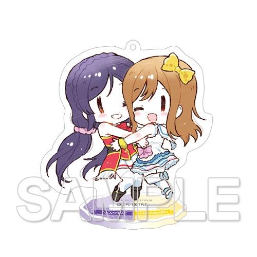 【グッズ-スタンドポップ】ラブライブ!シリーズ アクリルスタンド 希&花丸