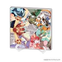 【グッズ-スタンドポップ】YUKI×AOIキメラプロジェクト アクリルアートボード 01/集合デザイン【催事商品】
