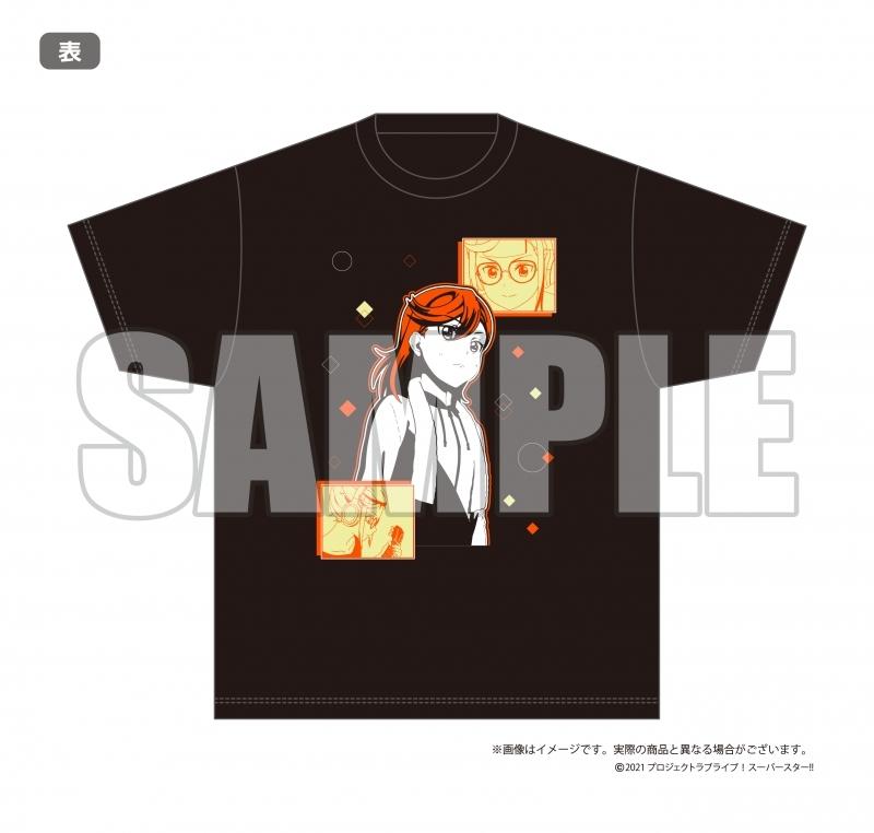 【グッズ-Tシャツ】ラブライブ!スーパースター!!結ヶ丘女子購買部 公式メモリアルアイテム #2~あきらめないキモチ!Tシャツ~(L) サブ画像2