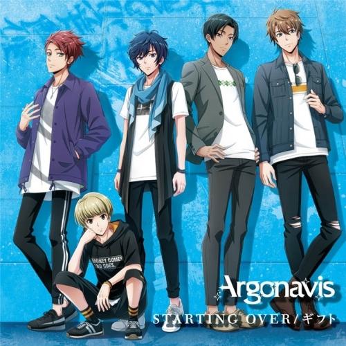 【マキシシングル】アルゴナビス from BanG Dream!「STARTING OVER/ギフト」/Argonavis 【Blu-ray付生産限定盤】