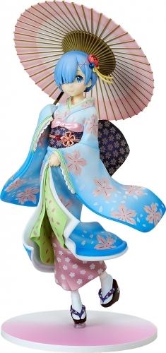 【フィギュア】Re:ゼロから始める異世界生活 レム 浮世絵桜Ver. 1/8スケール ABS&PVC 塗装済み完成品【特価】