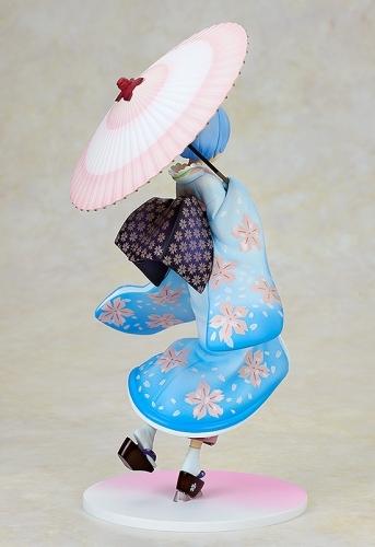 【フィギュア】Re:ゼロから始める異世界生活 レム 浮世絵桜Ver. 1/8スケール ABS&PVC 塗装済み完成品【特価】 サブ画像5