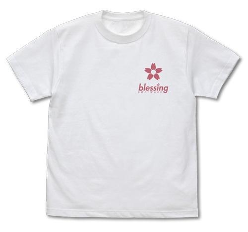 【グッズ-Tシャツ】冴えない彼女の育てかた Fine 加藤恵 描き下ろし Tシャツ WHITE-XL サブ画像2