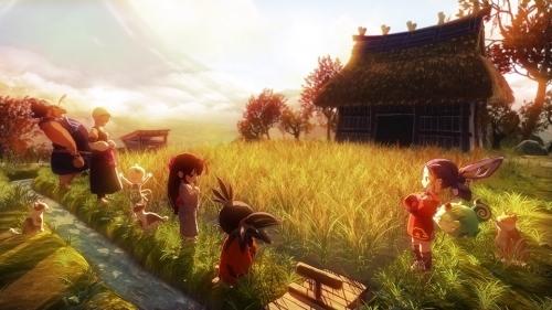 【PS4】天穂のサクナヒメ 彩色画集付限定版 サブ画像4