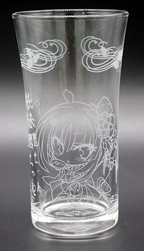 【グッズ-セット商品】純米酒ちゃん 日本酒セット<八口グラス+酒升>【清涼】 サブ画像2