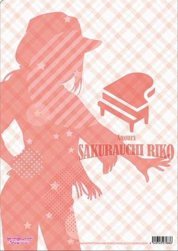 【グッズ-クリアファイル】ラブライブ!サンシャイン!! クリアファイル 桜内梨子 西部風 サブ画像2