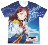 ラブライブ!サンシャイン!! 桜内梨子フルグラフィックTシャツ HAPPY PARTY TRAIN Ver./WHITE-S