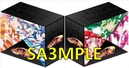 シンフォギアAXZ キャラソン1~6連動特典:全巻収納BOX