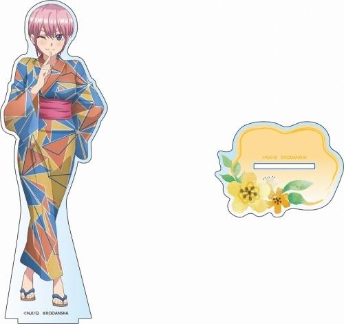 【グッズ-スタンドポップ】五等分の花嫁 デカアクリルスタンド 中野 一花 浴衣ver.【ゲーマーズ先行】