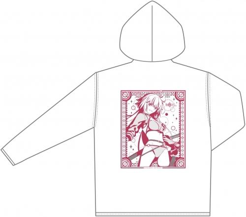 【グッズ-ウィンドブレーカー】Fate/Grand Order サマーパーカー 「バーサーカー/ジャンヌ・ダルク[オルタ]」  【アフターコミケ96】 サブ画像2