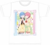 Re:ゼロから始める異世界生活 フルカラーメンズTシャツ「レム&ラム」 【アフターコミケ92】