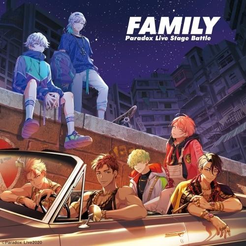 """【マキシシングル】Paradox Live Stage Battle """"FAMILY""""/cozmez×悪漢奴等"""