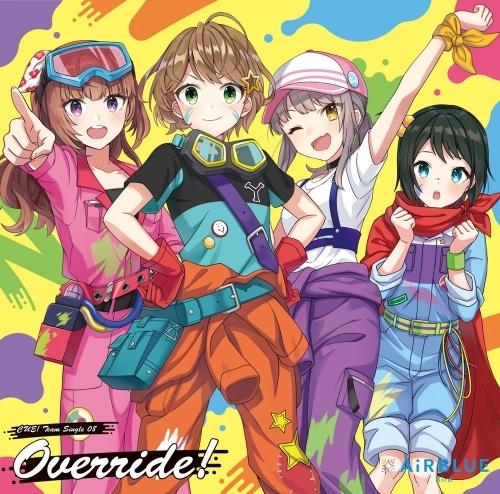 【マキシシングル】CUE! Team Single 08 「Override!」/AiRBLUE Bird
