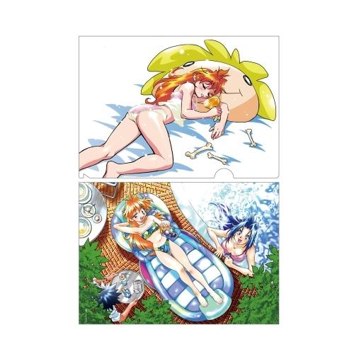 【グッズ-クリアファイル】ファンタジア文庫大感謝祭~百花繚乱~クリアファイルセットC(スレイヤーズ) サブ画像2