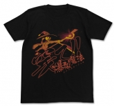 この素晴らしい世界に祝福を!2 穿て! 爆裂魔法Tシャツ/BLACK-M