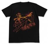 この素晴らしい世界に祝福を!2 穿て! 爆裂魔法Tシャツ/BLACK-XL
