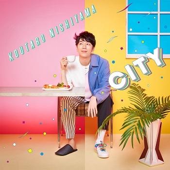【アルバム】デビューミニアルバム「CITY」/西山宏太朗 【通常盤】