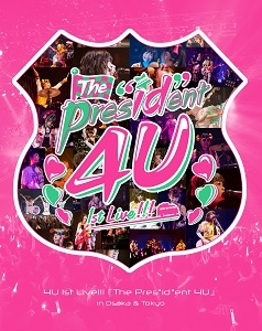 "【Blu-ray】Tokyo 7th シスターズ 4U 1stLive!!!「The Pres""id""ent 4U」in Osaka&Tokyo【初回限定盤】"