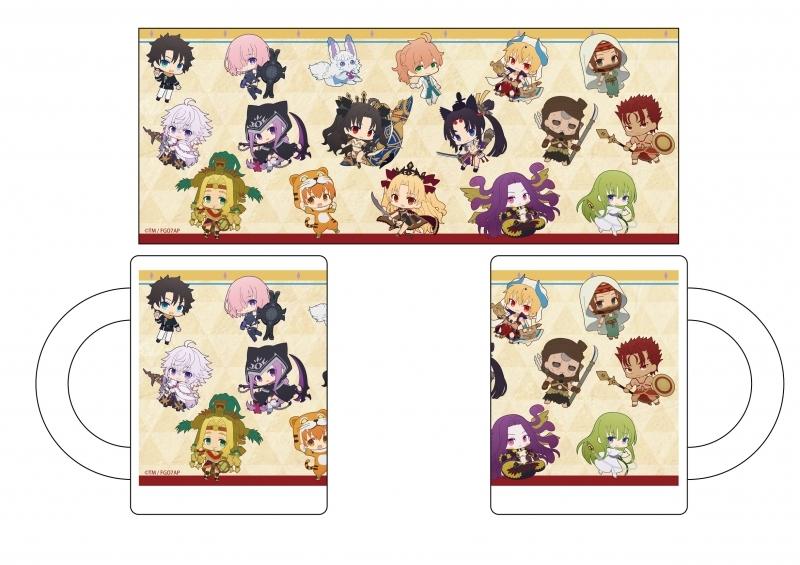 【グッズ-マグカップ】Fate/Grand Order -絶対魔獣戦線バビロニア- マグカップ ぷにキャラ
