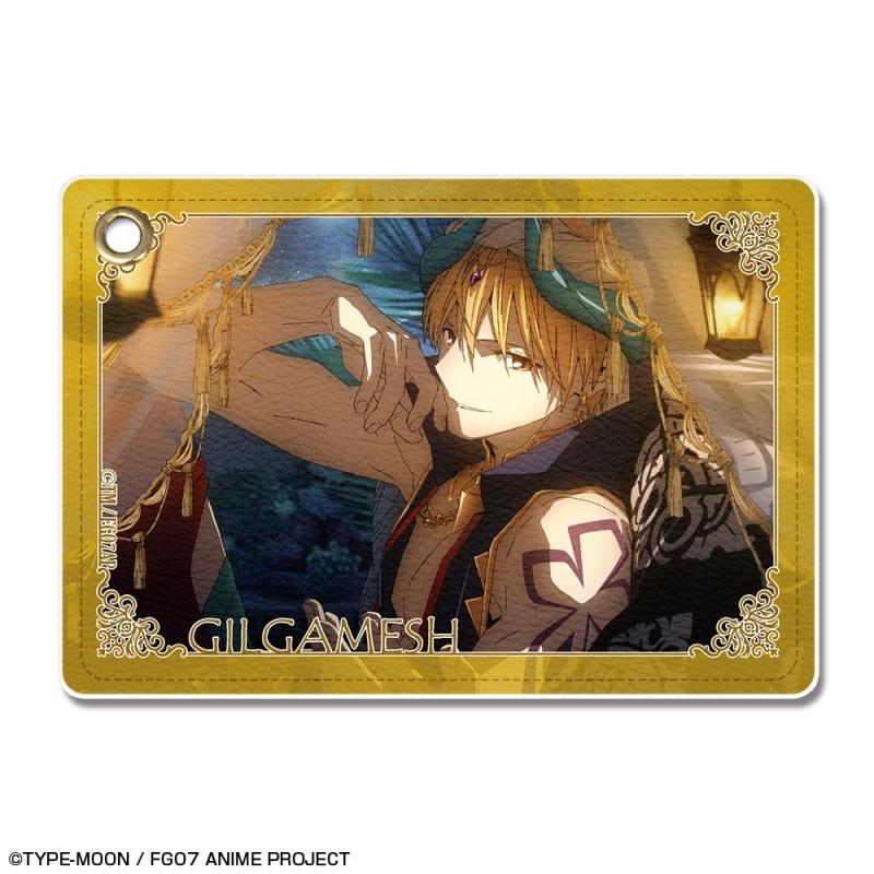 【グッズ-パスケース】Fate/Grand Order -絶対魔獣戦線バビロニア- レザーパスケース Ver.3 デザイン05(ギルガメッシュ/D)
