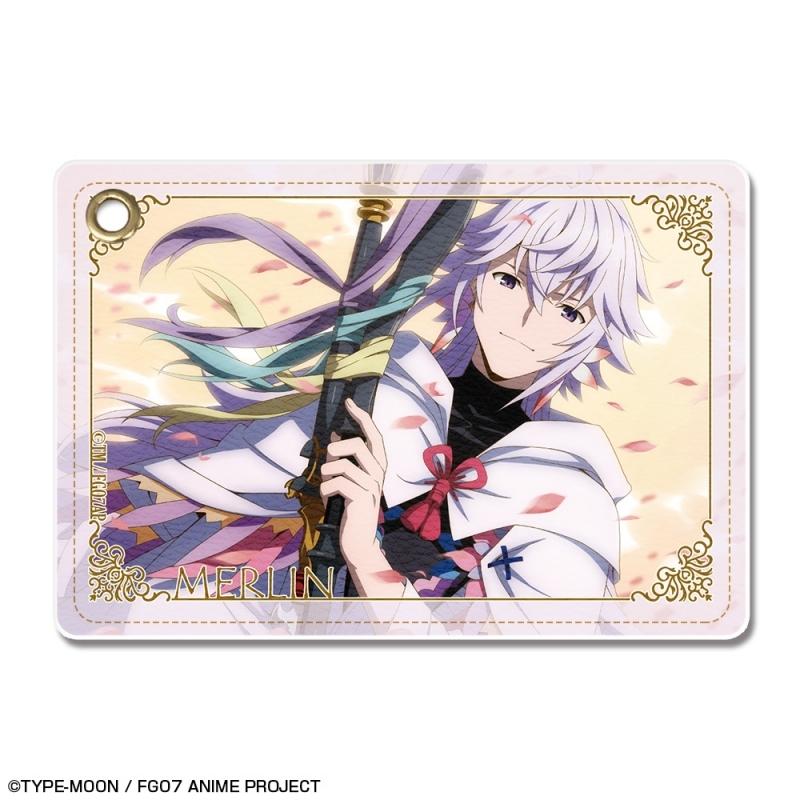 【グッズ-パスケース】Fate/Grand Order -絶対魔獣戦線バビロニア- レザーパスケース Ver.3 デザイン07(マーリン)