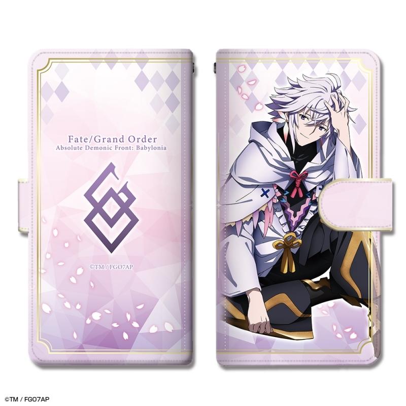 【グッズ-携帯グッズ】Fate/Grand Order -絶対魔獣戦線バビロニア- ブックスタイルスマホケース Mサイズ デザイン04(マーリン)