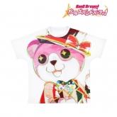 バンドリ! ガールズバンドパーティ! Ani-Art フルグラフィックTシャツ ミッシェル (ハロー、ハッピーワールド!)/ユニセックス(サイズ/S)