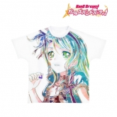バンドリ! ガールズバンドパーティ! Ani-Art フルグラフィックTシャツ 氷川紗夜 (Roselia)/ユニセックス(サイズ/L)