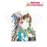 バンドリ! ガールズバンドパーティ! Ani-Art フルグラフィックTシャツ 白金燐子 (Roselia)/ユニセックス(サイズ/L)