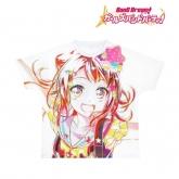 バンドリ! ガールズバンドパーティ! Ani-Art フルグラフィックTシャツ 戸山香澄 (Poppin'Party)/ユニセックス(サイズ/L)