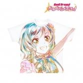 バンドリ! ガールズバンドパーティ! Ani-Art フルグラフィックTシャツ 氷川日菜 (Pastel*Palettes)/ユニセックス(サイズ/XL)