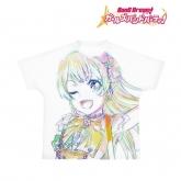 バンドリ! ガールズバンドパーティ! Ani-Art フルグラフィックTシャツ 白鷺千聖 (Pastel*Palettes)/ユニセックス(サイズ/L)
