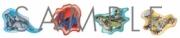 接触篇/発動篇連動特典:オリジナルピンバッジ4個セット(キャラクター:まそたん、ノーマ、フトモモ、あけみ)