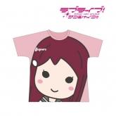 ラブライブ!サンシャイン!! フルグラフィックTシャツ(桜内梨子)/ユニセックス(サイズ/L) 【再販】