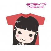 ラブライブ!サンシャイン!! フルグラフィックTシャツ(黒澤ダイヤ)/ユニセックス(サイズ/XL) 【再販】