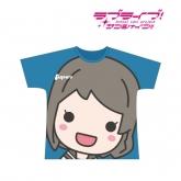 ラブライブ!サンシャイン!! フルグラフィックTシャツ(渡辺 曜)/ユニセックス(サイズ/L) 【再販】